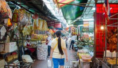 Tips for spending less money on food and eating out when you're traveling. Budget travel tips to spend less on food while traveling