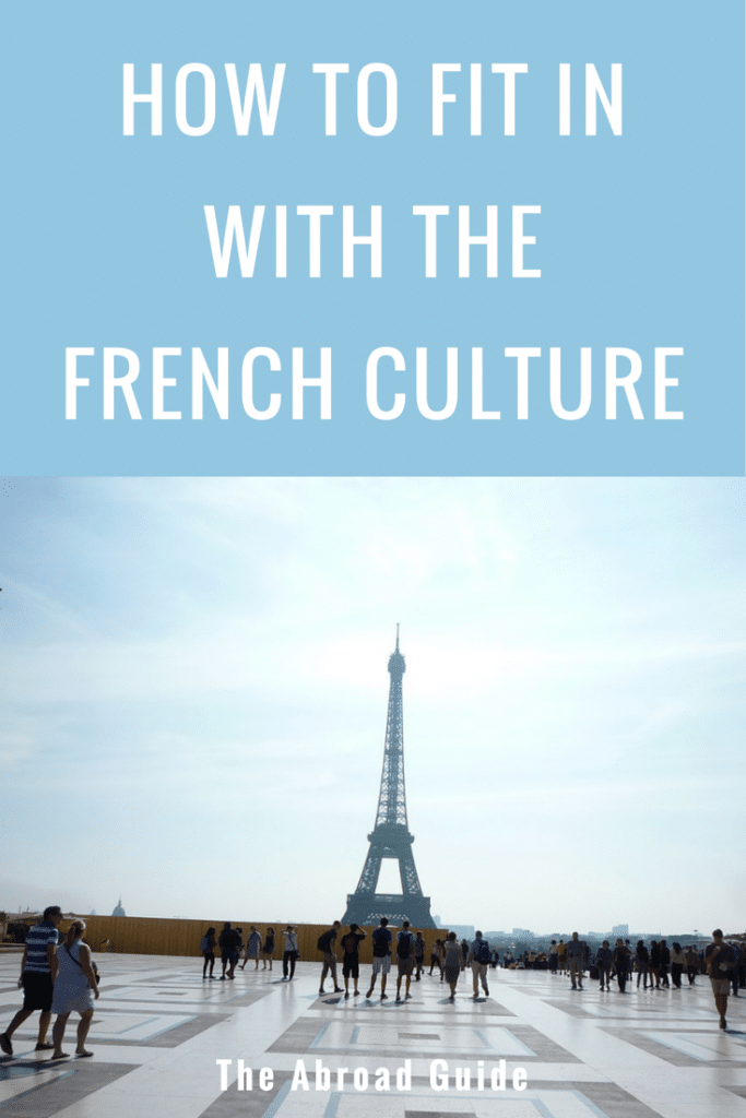 how to fit in with the french culture
