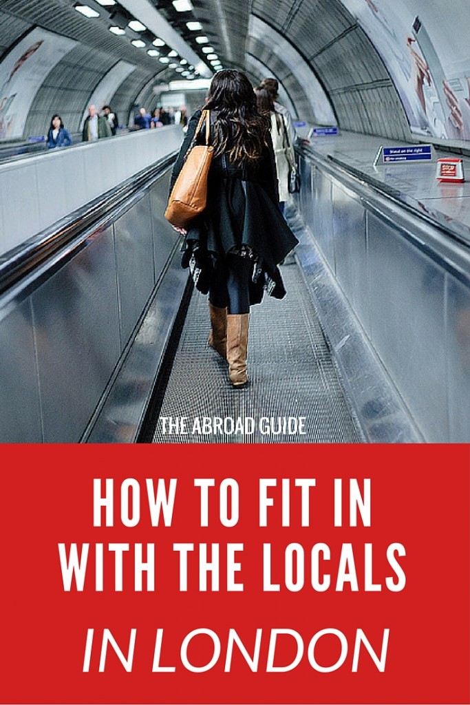 How to Fit in With the Locals in London - whether studying abroad in London or just visiting for a few days, here's how to fit in with the culture in London. There are some different customs and phrases to know before going to London, so click through to learn how to fit in while you're there.