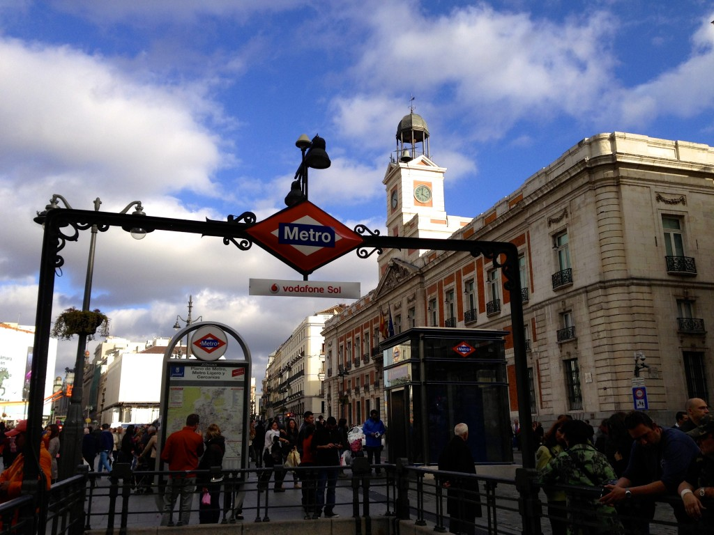 madrid study abroad guide to the metro