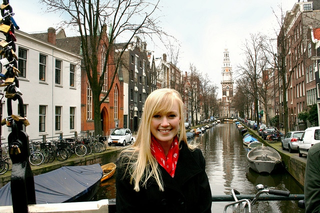amsterdam canal photo