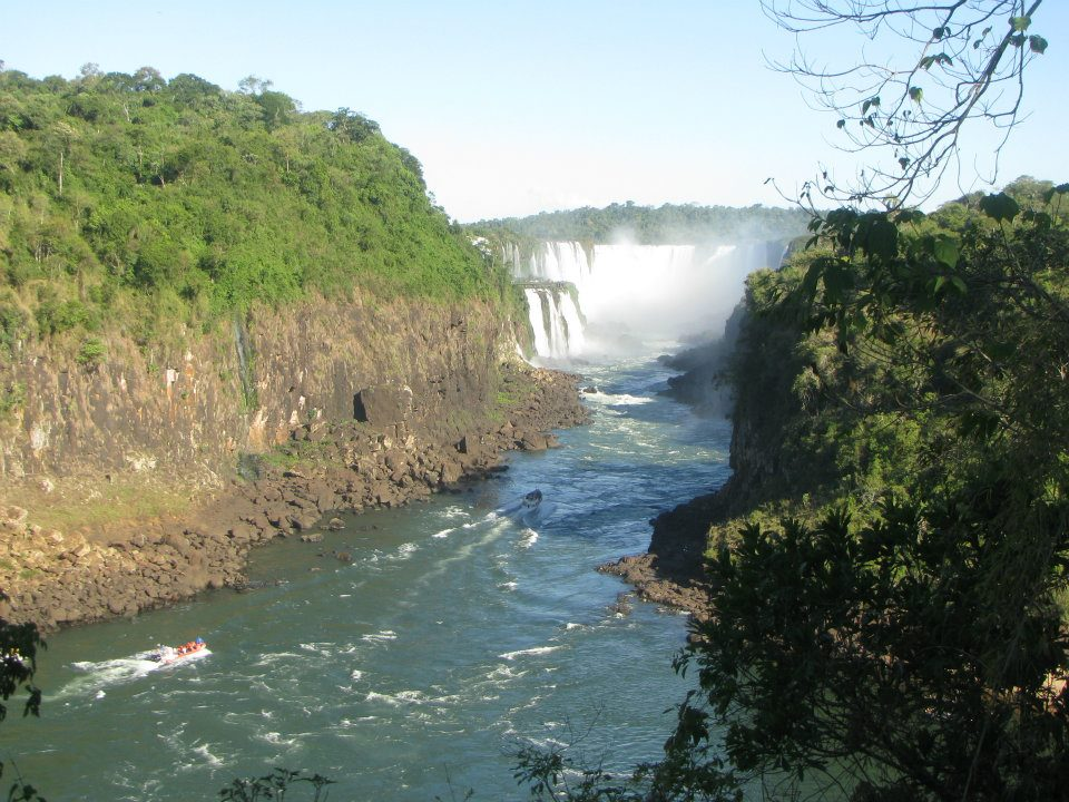 Iguazu falls, how to visit iguazu when studying abroad, studying abroad in South America