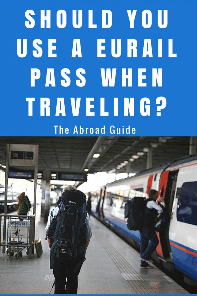 Should I use a eurail pass, how to know when to use a eurail pass