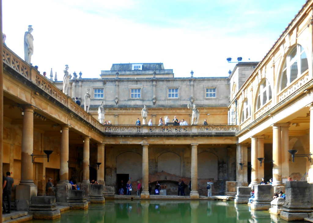 day trip to bath during study abroad, study abroad day trips from london