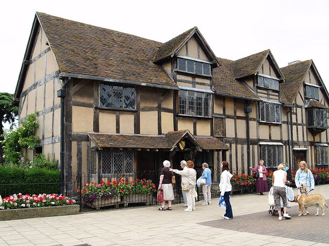 trip to shakespeare's house from london, day trip to stratford