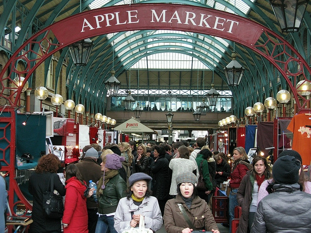 Markets in London - Covent Garden
