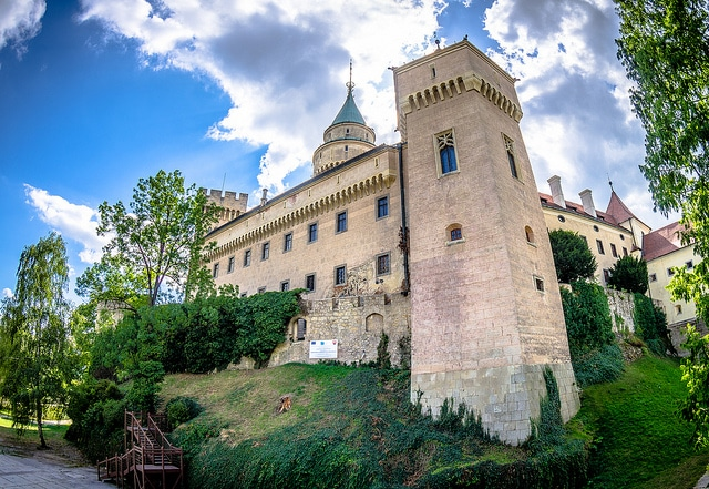 Bojnice Castle, top castles to visit in europe