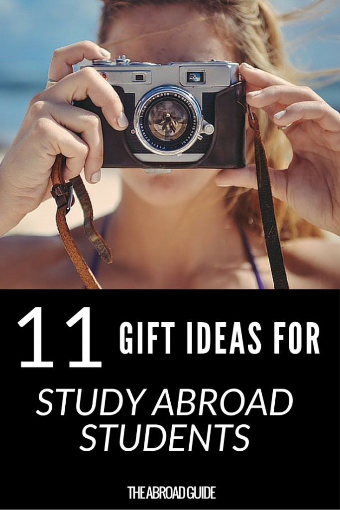 11 Gift Ideas for Study Abroad Students - if you need gift ideas for someone whos going to be