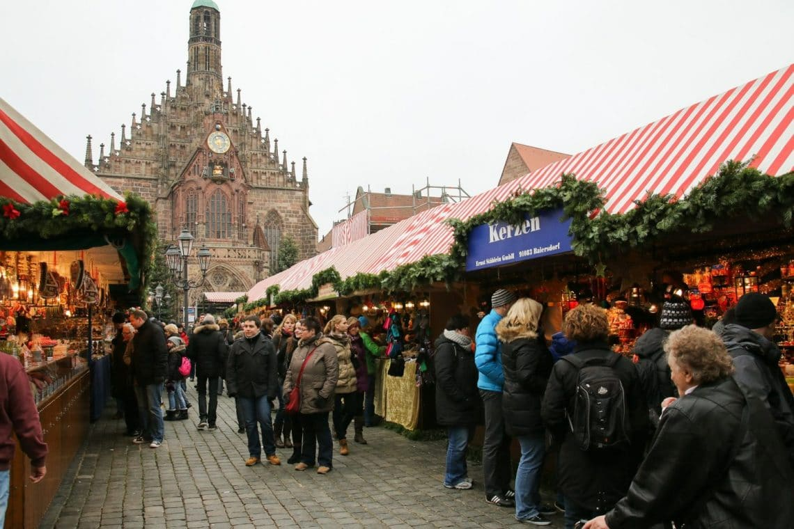 christmas market in stockholm sweden