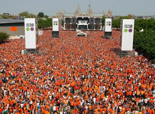Kingsday in Amsterdam, festivals in europe to go to, best festivals in Europe