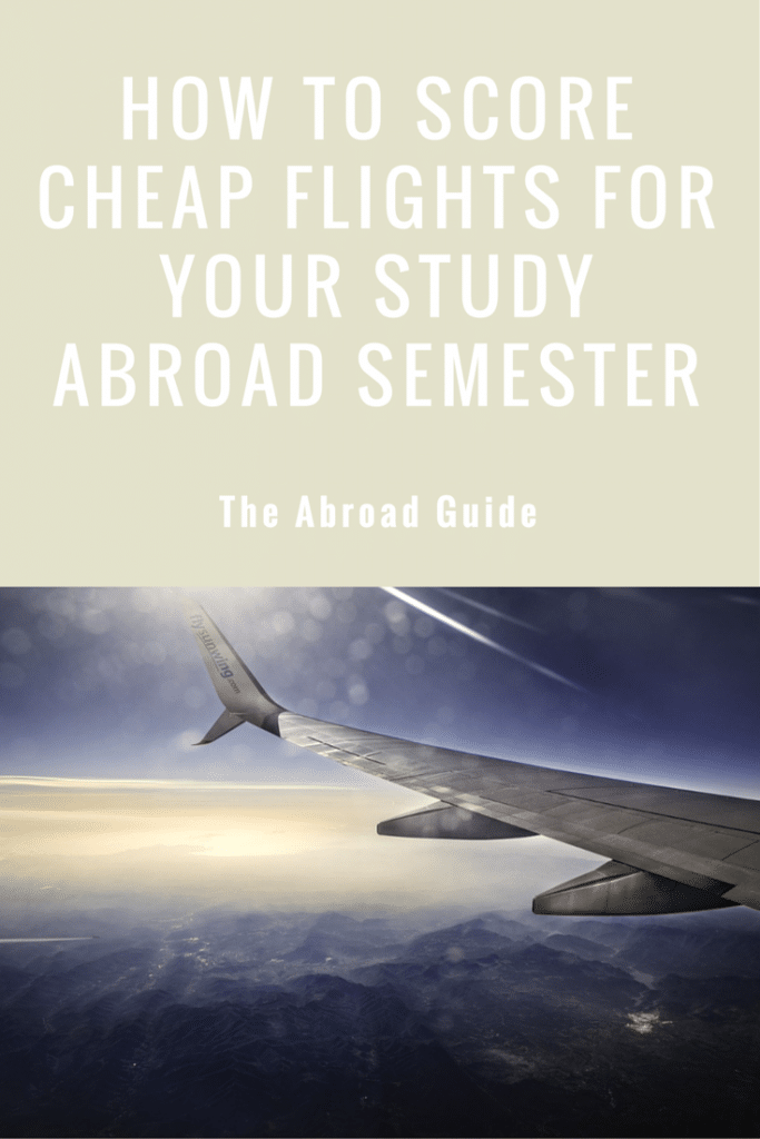Cheap flights for study abroad, how to get cheap flights for study abroad