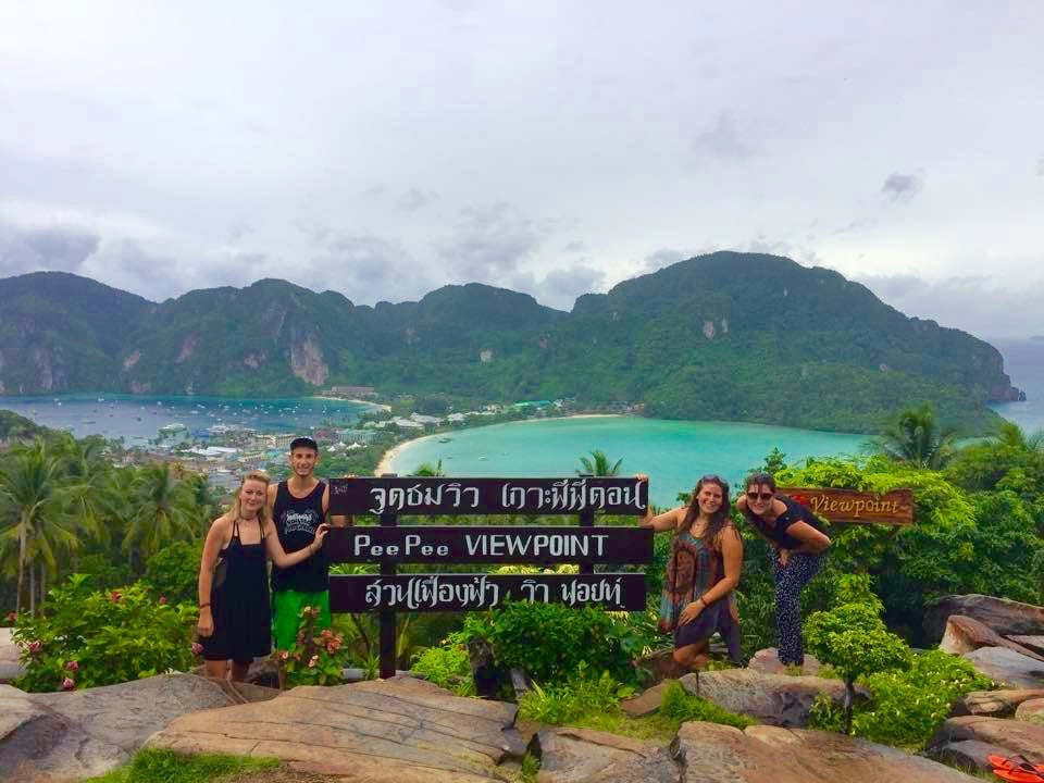 where to go when backpacking thailand -- Koh Phi Phi, where to backpack in thailand, where to go backpacking in thailand