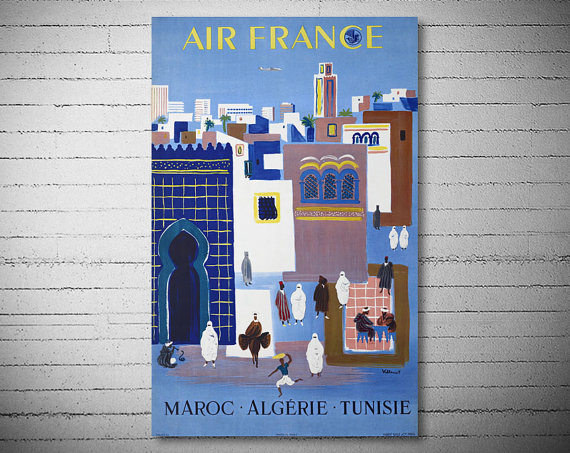 These travel-related prints and posters on Etsy are perfect for travel lovers who want some art to put on their walls. Get one of these travel prints for someone who just studied abroad or who loves traveling-- great Christmas gifts!