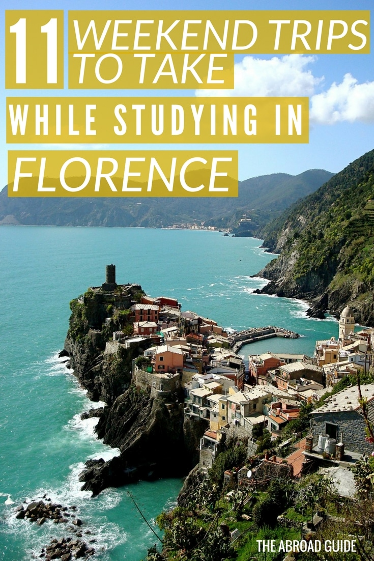 11 weekend trips to take while studying abroad in florence for Great short vacation ideas
