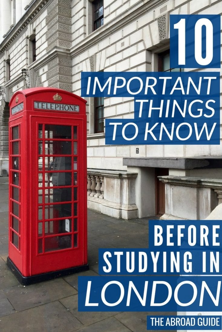 If you're studying abroad in London, these are some important things to know before your semester abroad, including ways to save money, what to do about the London weather, and how to make friends with people who live in London.