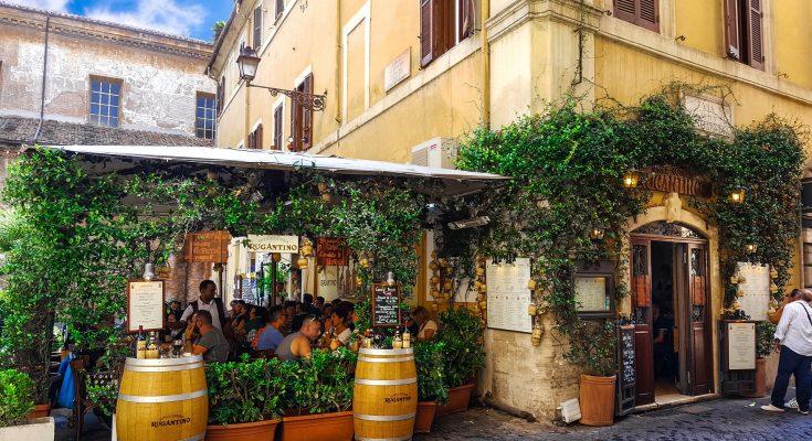 Top restaurants in Trastevere Rome