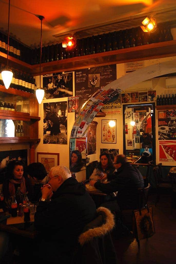 where to eat dinner in trastevere, rome
