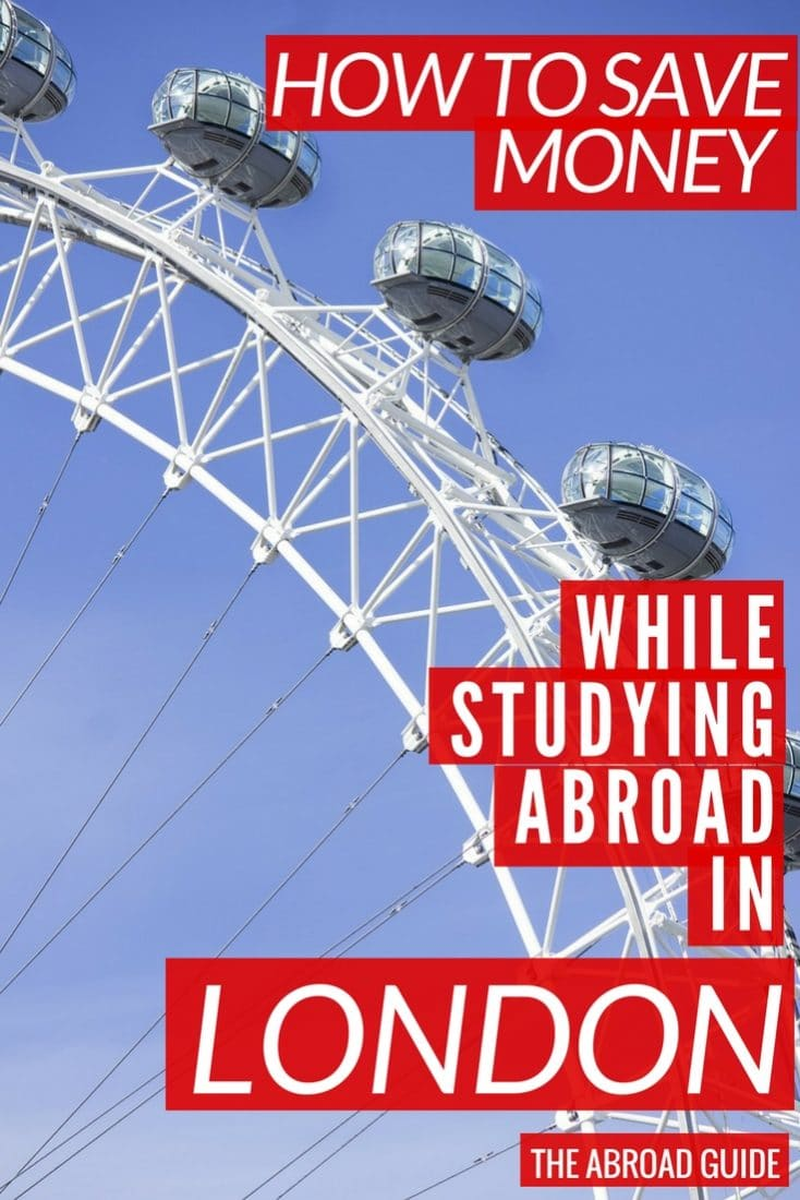 How to Save Money while studying in london. Study abroad students can pay less and get discounts for things around the city like London theatre shows, haircuts, and more.