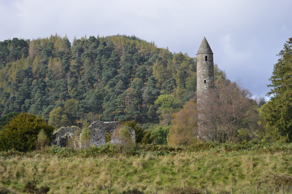 Best Day Trips from Dublin- Glendalough is a great choice for a day trip when you're visiting Dublin. Whether you're studying abroad in Dublin or just visiting for a few days, these day trips (and half-day trips) are the best to take while there.
