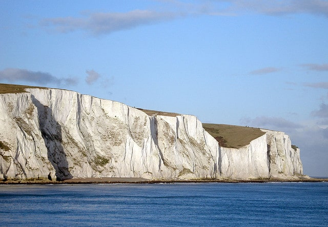 White cliffs of dover from london, day trips out of london during study abroad