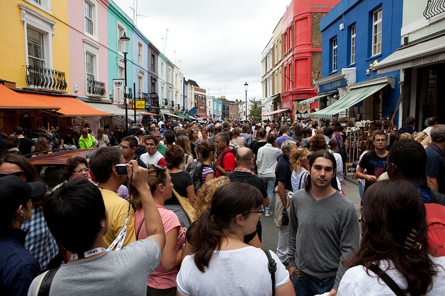 The Abroad Guide to London's Markets Portobello Market