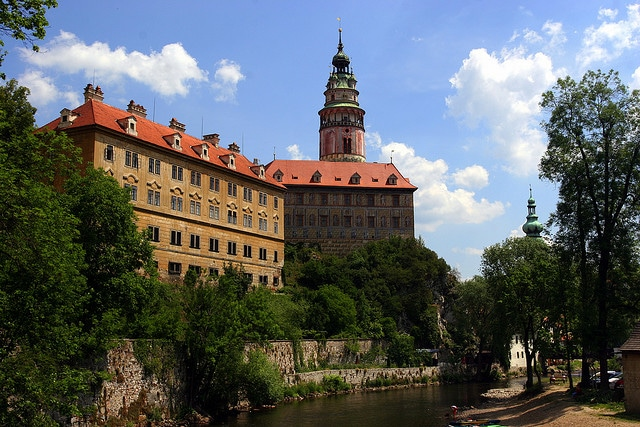 cesky krumlov castle, castles to visit in Europe
