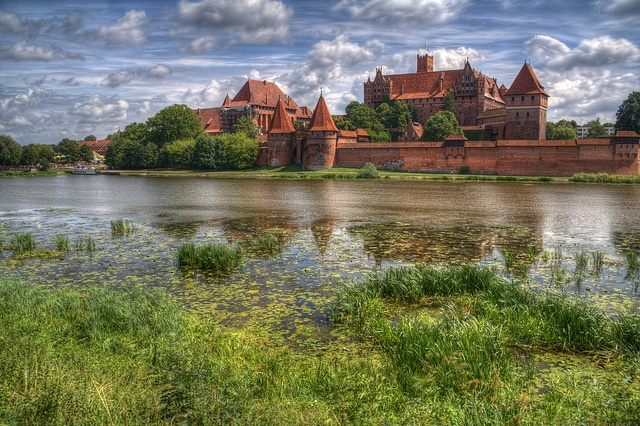 malbork castle, castles in europe
