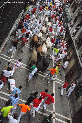 festivals in spain, running of the bulls, cool festivals in Europe