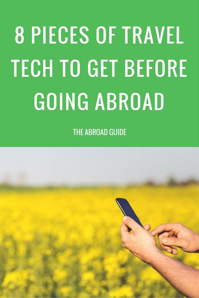 Going traveling or studying abroad soon? Pick up these smart pieces of travel tech. They'll help you keep your electronics and information secure while traveling, make your time abroad easier , and help you make the most of your travels.