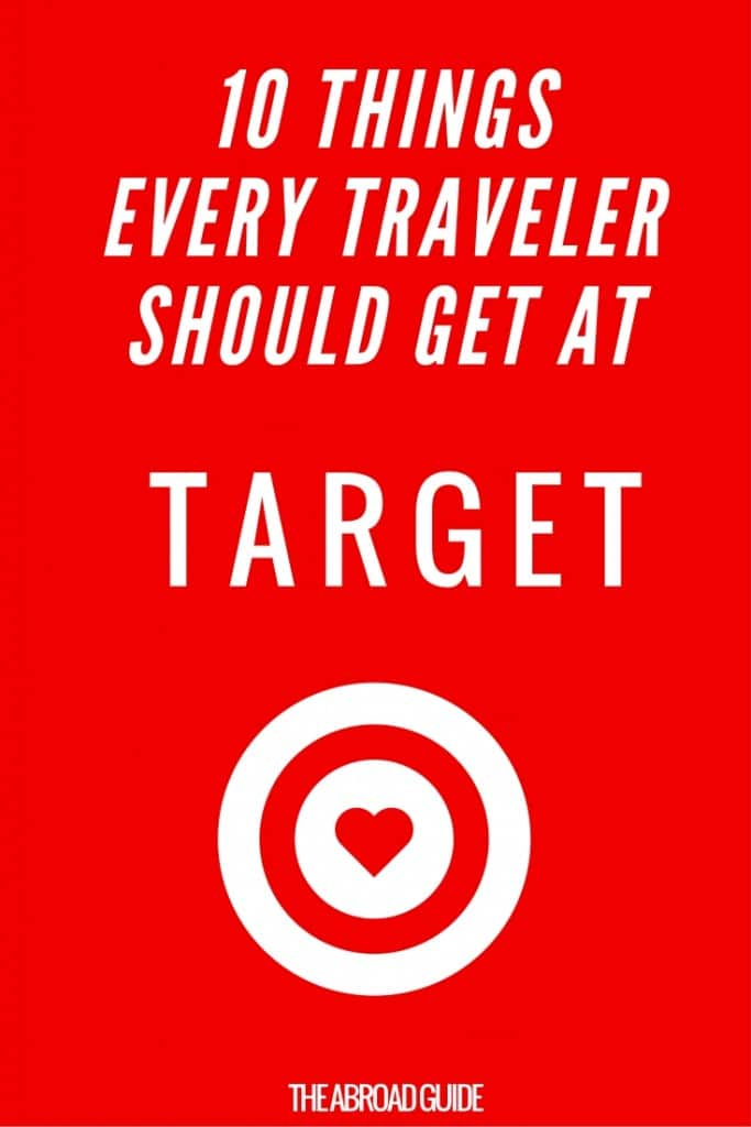 Target has tons of great stuff for travelers, so before you go on your next trip or vacation, head to Target and pick up these 10 things that every traveler should get at Target (the best store in the ENTIRE WORLD)