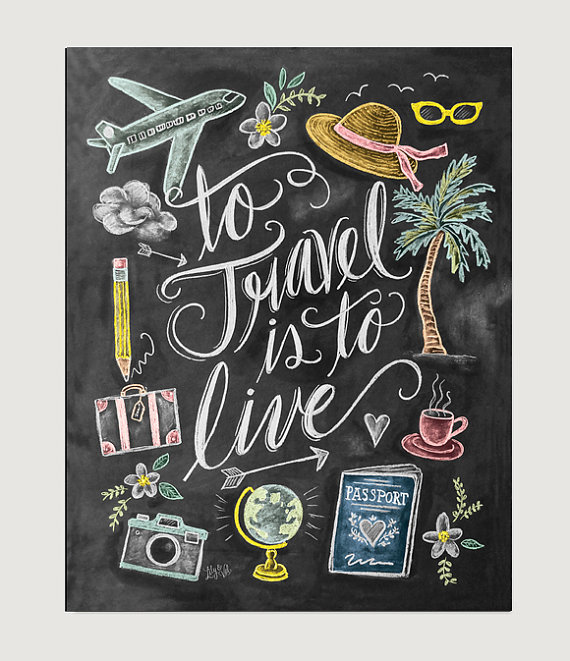 15 prints posters on etsy that every travel lover should have these travel quote prints and posters on etsy are perfect for travel lovers who want some gumiabroncs Image collections