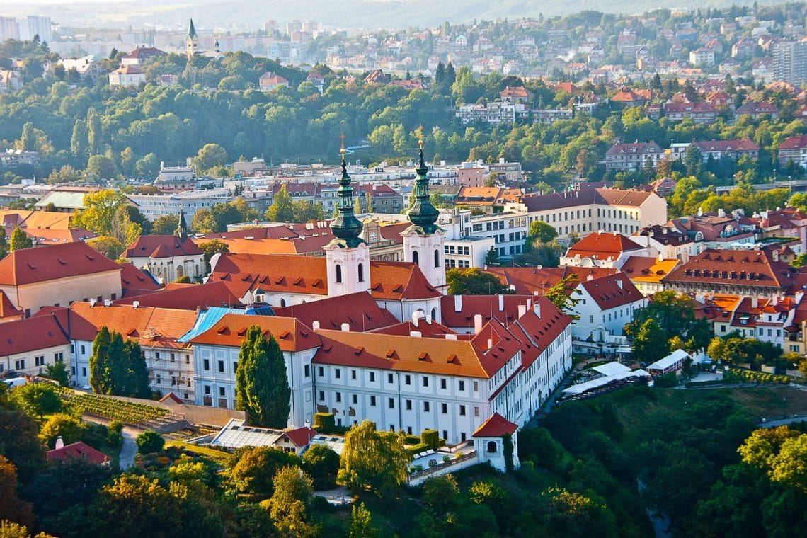 Top places to visit in Europe in Spring - Prague