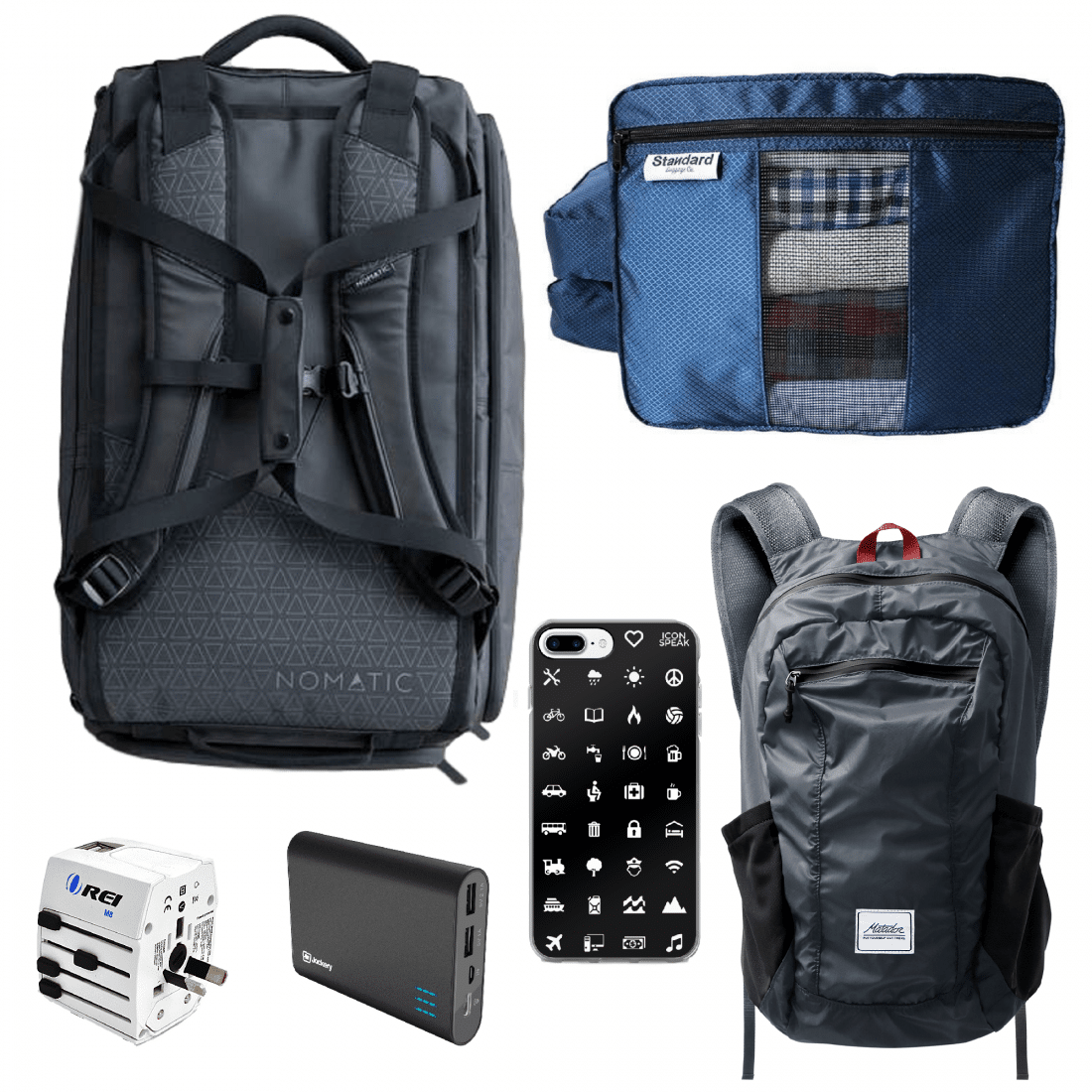 What to Buy for Study Abroad Semester - Backpack travel set