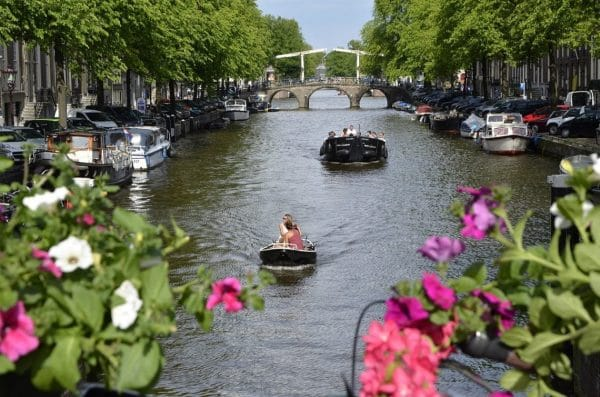 Where to go to in Europe in Spring - Amsterdam