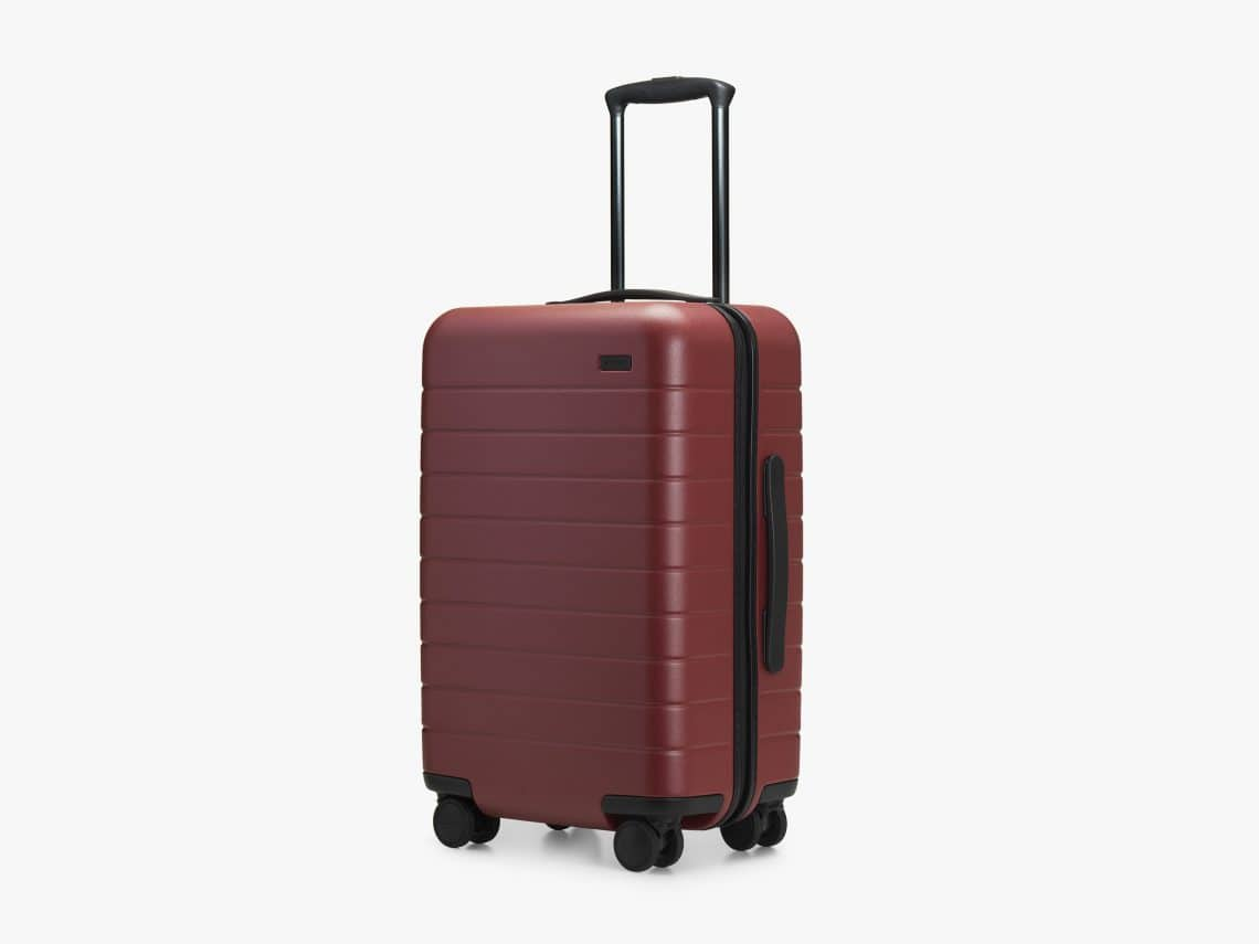 gift ideas for study abroad - carry on suitcase with battery pack charger