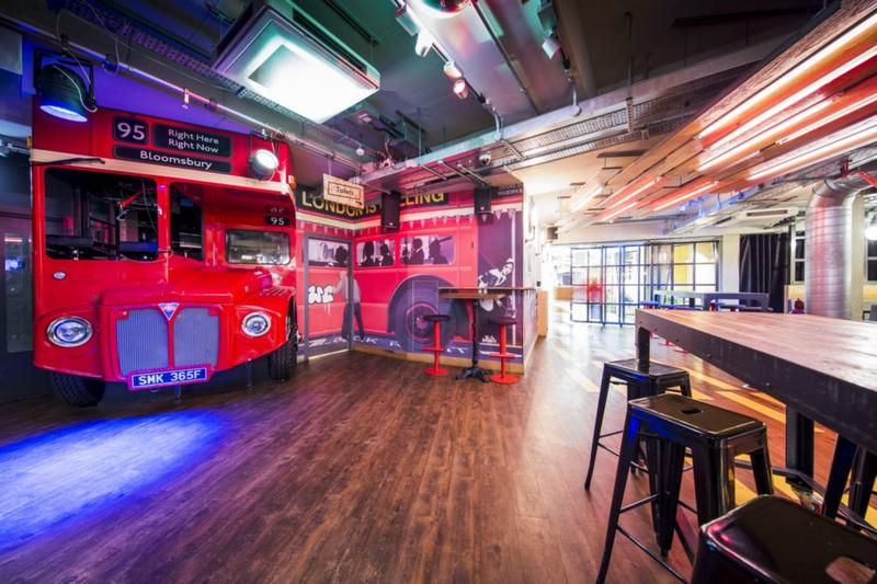 Best hostels to stay in in London - Generator Hostel London is well connected and a cool spot for meeting other travelers in London.