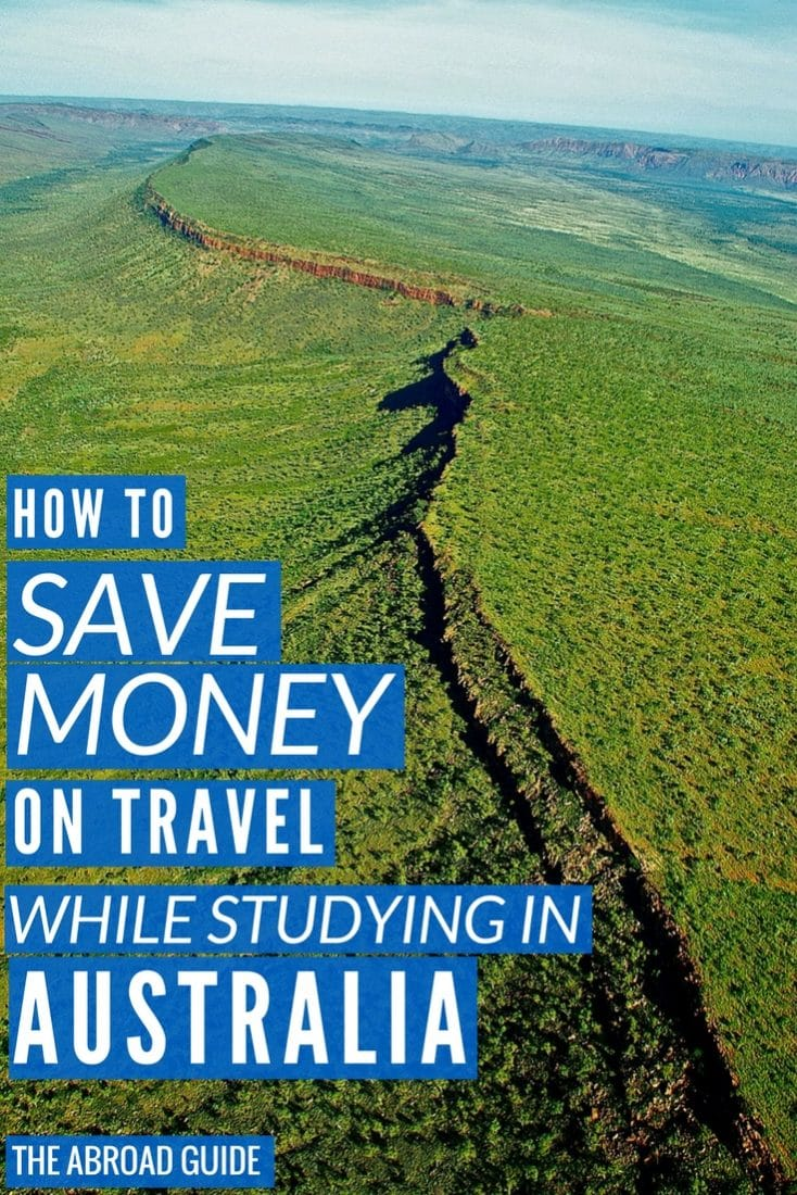 Learn how you can travel Australia on the cheap while studying in Australia. A guide for budget travel for Australia students.
