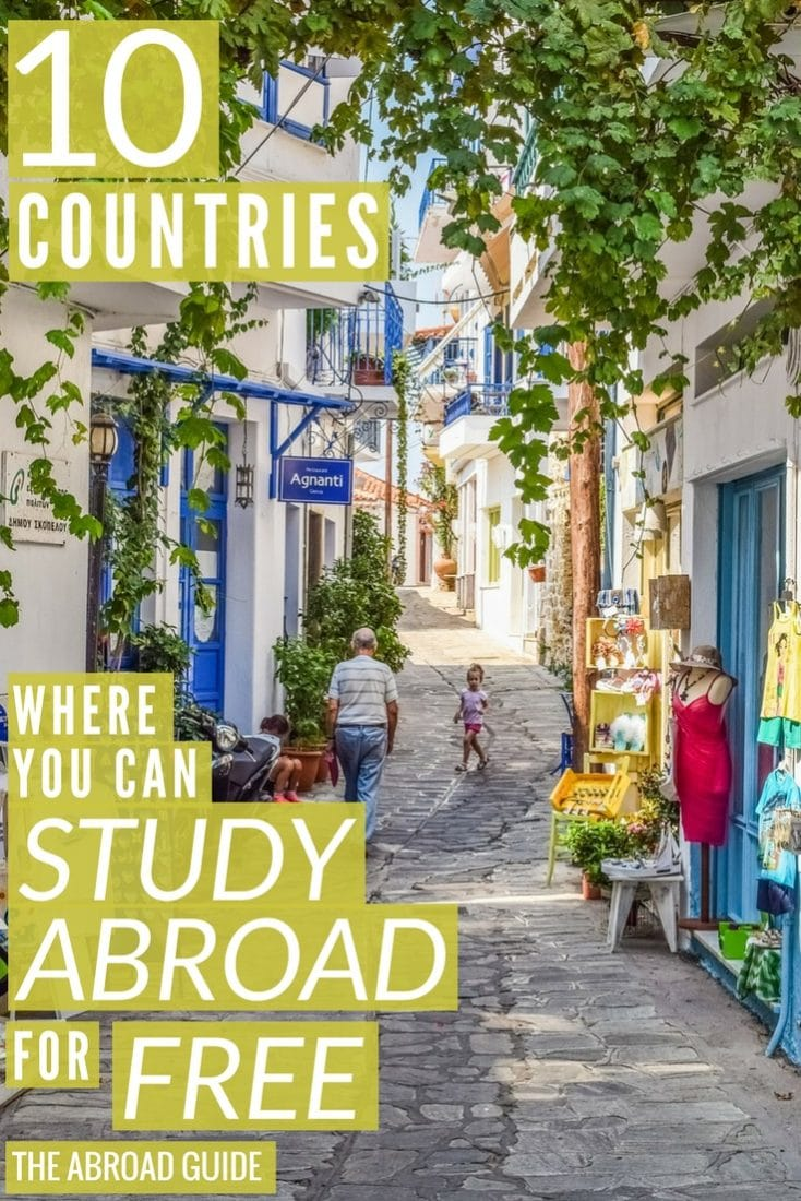 Where to study abroad for free. These ten countries let international students study for free in their universities. If you want to study abroad for free or cheap, check out these places.