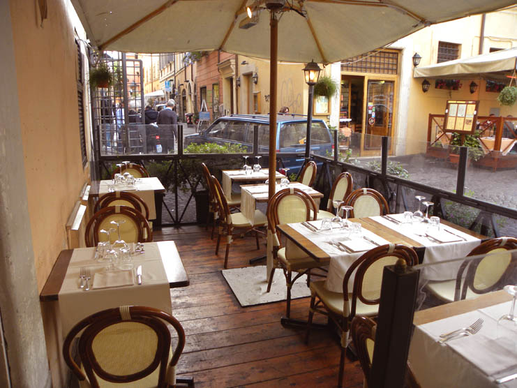 good restaurants in Trastevere, Rome