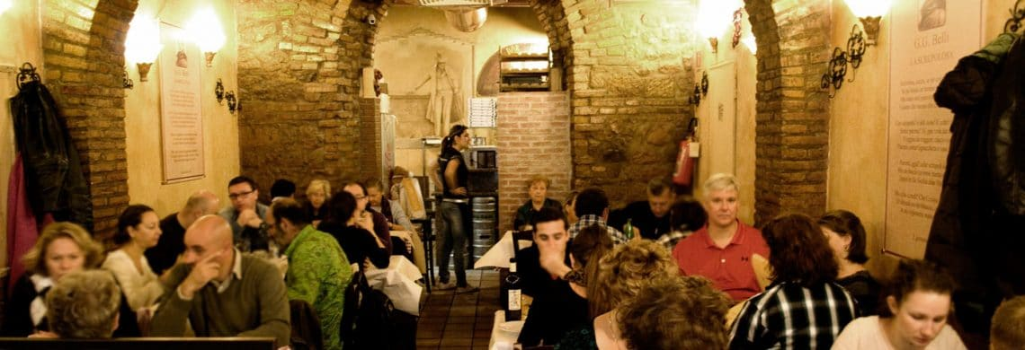 top restaurants in trastevere, rome