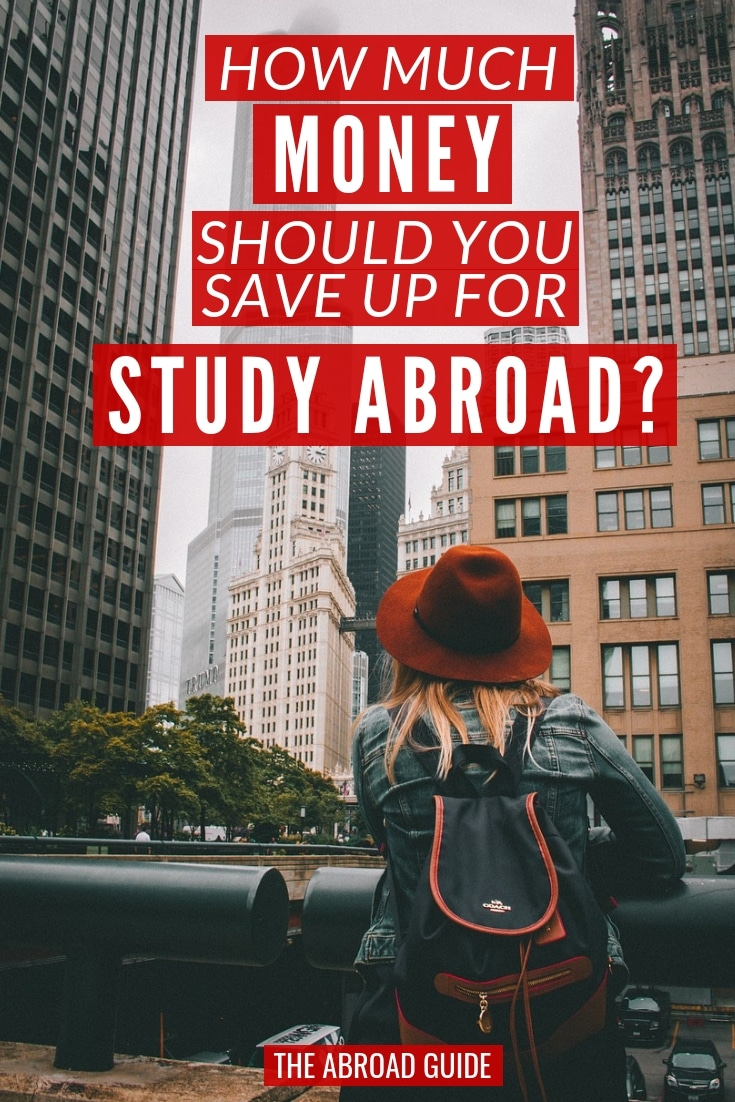 How much money to save up for a study abroad semester. Here's a detailed guide of costs to consider when studying abroad that will help you figure out how much money you need to save up before you go abroad.